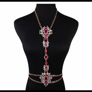 Fashion Rhinestone Body Chain